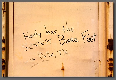 Kathy has the sexiest bare feet in Dallas, TX