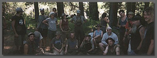 group portrait at Black Butte
