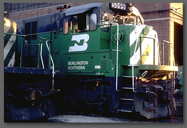Burlington Northern U-boat